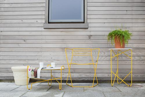 Фотография: Терраса в стиле Лофт, Декор интерьера, Мебель и свет, Стол, Кресло – фото на INMYROOM