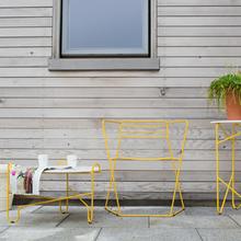 Фотография: Терраса в стиле Лофт, Декор интерьера, Мебель и свет, Стол, Кресло – фото на InMyRoom.ru