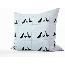 Декоративная подушка: Черноухий