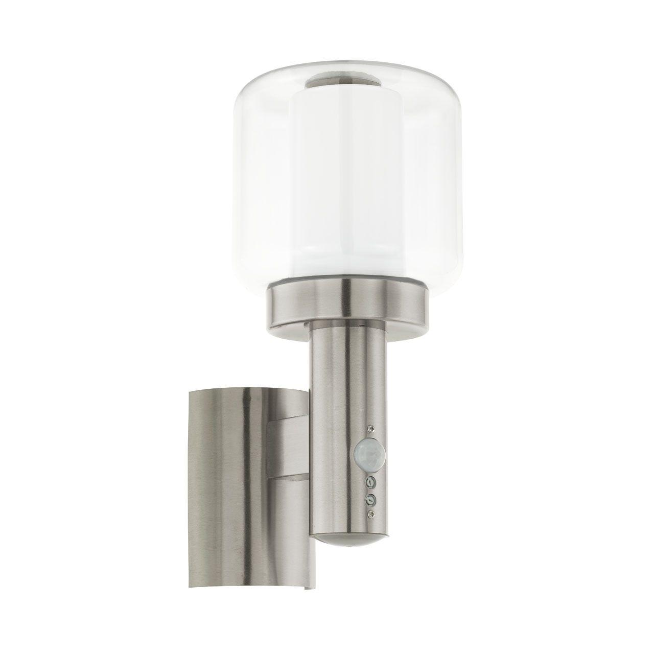 Купить Уличный настенный светильник Eglo Poliento с плафоном из стекла, inmyroom, Австрия