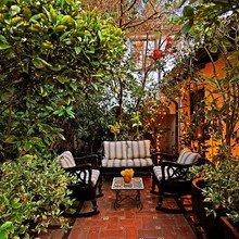 Фотография: Балкон, Терраса в стиле , Дом, Дома и квартиры, Интерьеры звезд, Калифорния – фото на InMyRoom.ru
