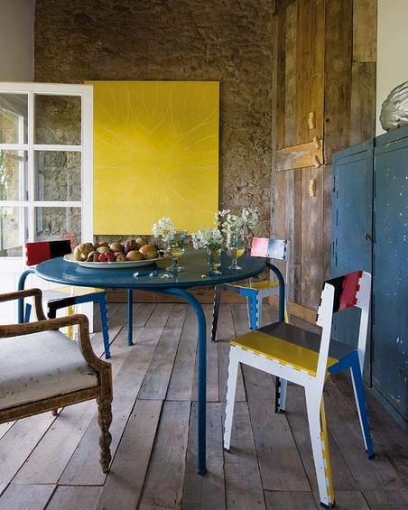 Фотография: Кухня и столовая в стиле Эклектика, Дом, Испания, Дома и квартиры, Современное искусство – фото на InMyRoom.ru