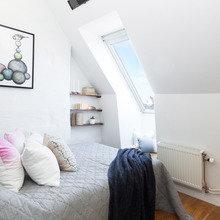 Фото из портфолио Уютная квартира мансардного типа – фотографии дизайна интерьеров на INMYROOM