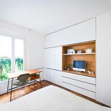 Фото из портфолио Апартаменты Hike : перезагрузка – фотографии дизайна интерьеров на InMyRoom.ru