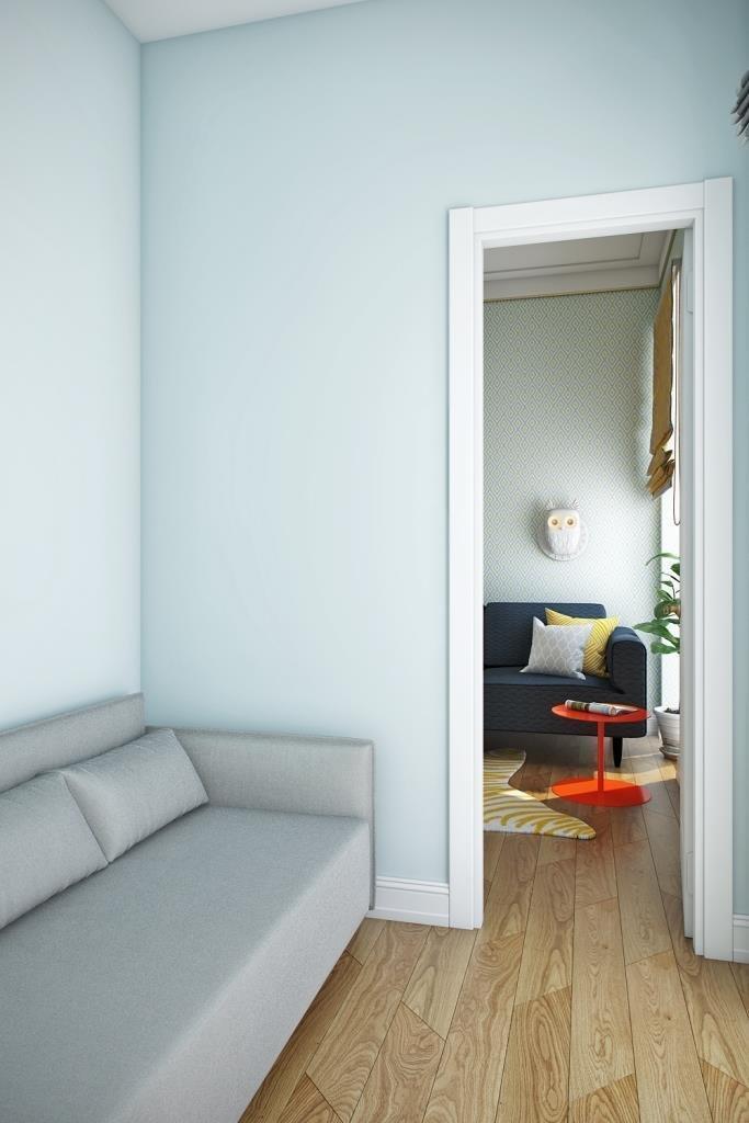 Фотография: Мебель и свет в стиле Современный, Квартира, Проект недели, Москва, Монолитный дом, 3 комнаты, 60-90 метров, Алена Чекалина – фото на InMyRoom.ru