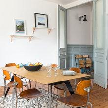 Фотография: Кухня и столовая в стиле Скандинавский, Дом, Франция, Дом и дача – фото на InMyRoom.ru