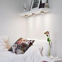 Фотография: Спальня в стиле Кантри, Скандинавский, Классический, Лофт, Современный, Эклектика, Аксессуары, Декор, Мебель и свет, Ремонт на практике, Эко – фото на InMyRoom.ru