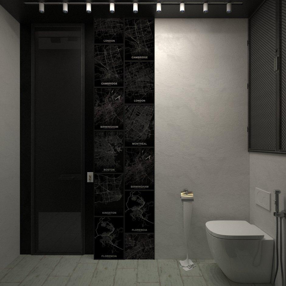 Фотография: Ванная в стиле Скандинавский, Квартира, Проект недели, Блочный дом, 2 комнаты, 40-60 метров, Юлия Штыкина, Ла Корунья – фото на InMyRoom.ru