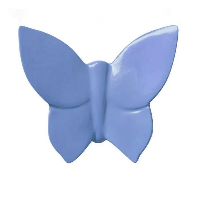 Декоративная бабочка Butterly (синяя)