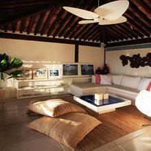 Фотография: Гостиная в стиле Современный, Эко, Дома и квартиры, Городские места, Отель, Бразилия – фото на InMyRoom.ru