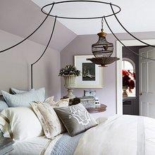Фотография: Спальня в стиле Кантри, Декор интерьера, Аксессуары, Декор, Белый, Черный, Желтый, Серый, Бирюзовый – фото на InMyRoom.ru
