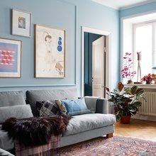 Фото из портфолио Голубой цвет в интерьере – фотографии дизайна интерьеров на INMYROOM