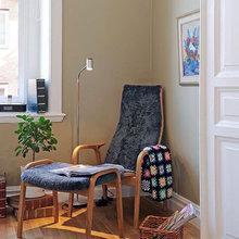 Фотография: Мебель и свет в стиле Кантри, Хранение, Стиль жизни, Советы, Мансарда, Подоконник – фото на InMyRoom.ru
