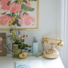 Фотография: Офис в стиле Кантри, Кабинет, Интерьер комнат – фото на InMyRoom.ru
