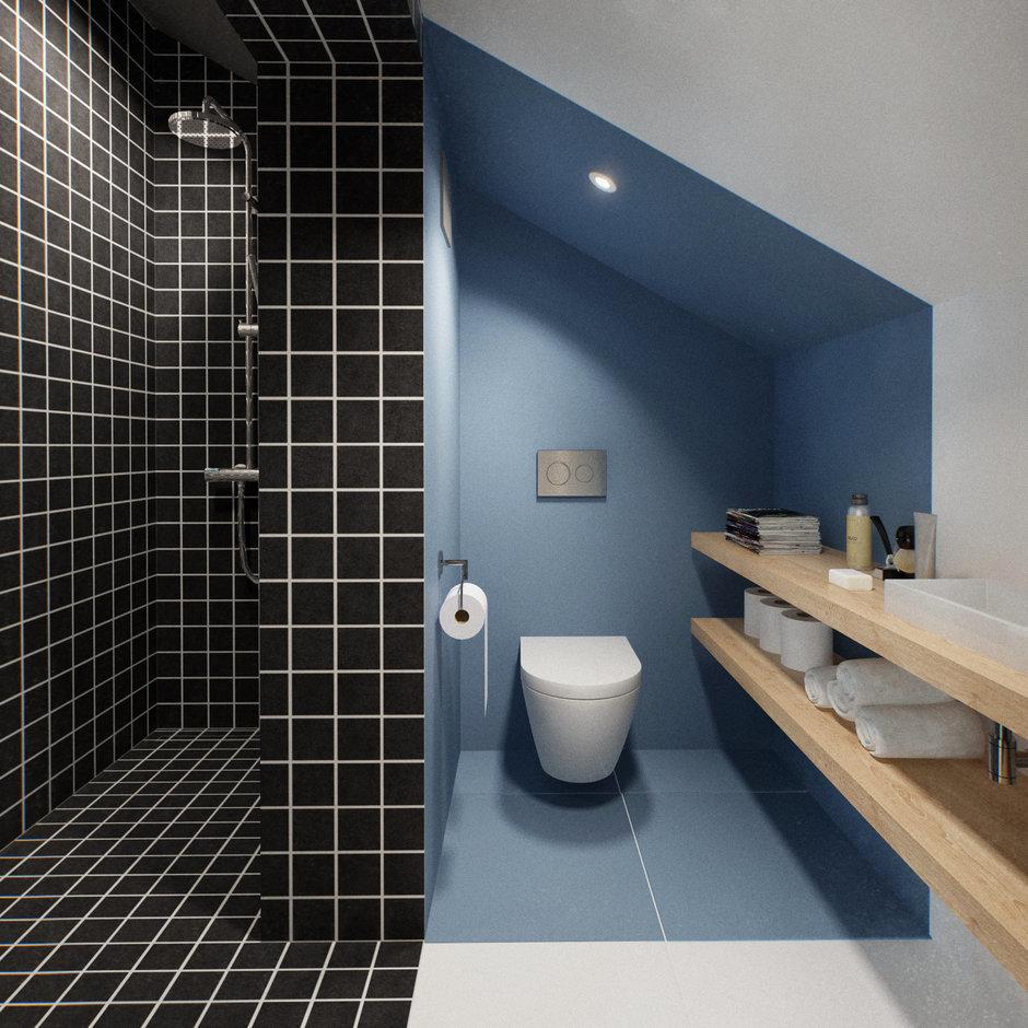 Фотография: Ванная в стиле Лофт, Дом, Дома и квартиры, IKEA, Проект недели – фото на InMyRoom.ru