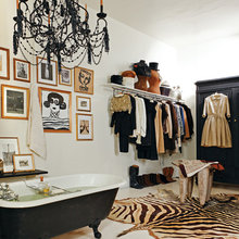 Фотография: Ванная в стиле Эклектика, Кухня и столовая, Квартира, Дома и квартиры – фото на InMyRoom.ru