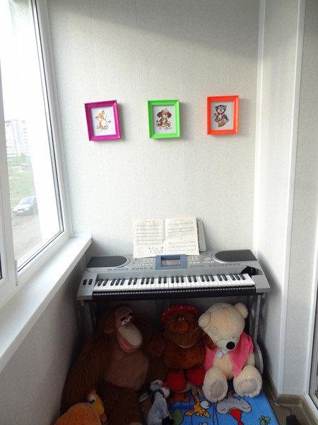 Фотография: Балкон, Терраса в стиле , Детская, Интерьер комнат – фото на InMyRoom.ru