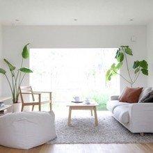 Фотография: Гостиная в стиле Минимализм, Эко, Дом, Дома и квартиры, Япония – фото на InMyRoom.ru