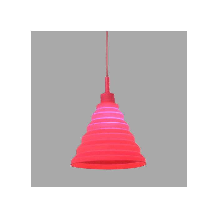 Подвесной светильник Elvan с плафоном из силикона
