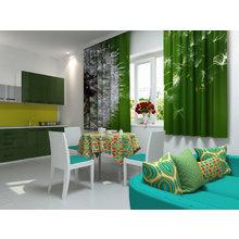 Кухонная скатерть: Осколки радуги