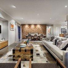 Фотография: Гостиная в стиле Лофт, Квартира, Дома и квартиры, Перепланировка – фото на InMyRoom.ru