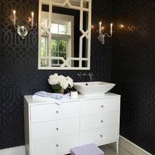 Фотография: Ванная в стиле Классический, Дома и квартиры, Интерьеры звезд – фото на InMyRoom.ru