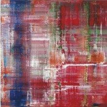 Картина (репродукция, постер): Abstraktes No. 1 - Герхард Рихтер