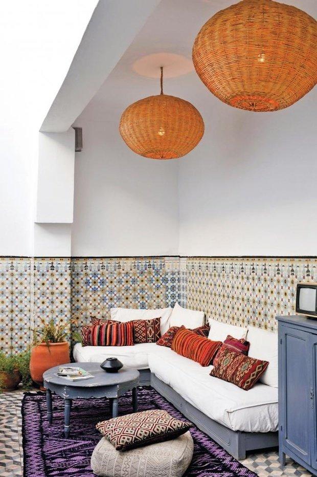 Фотография: Гостиная в стиле Восточный, Декор интерьера, Декор дома, Марокканский – фото на InMyRoom.ru