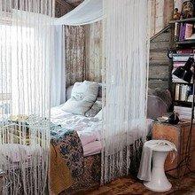 Фотография: Спальня в стиле Кантри, Декор интерьера, Декор дома, Текстиль, Шторы – фото на InMyRoom.ru