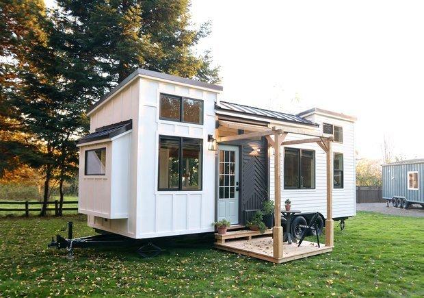 Фотография: Терраса в стиле Скандинавский, Советы, как оформить маленький дом – фото на INMYROOM