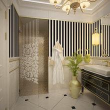 Фото из портфолио Санузел с золотыми мотивами – фотографии дизайна интерьеров на INMYROOM