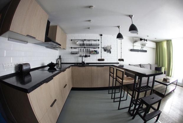 Фотография: Кухня и столовая в стиле Лофт, Скандинавский – фото на INMYROOM