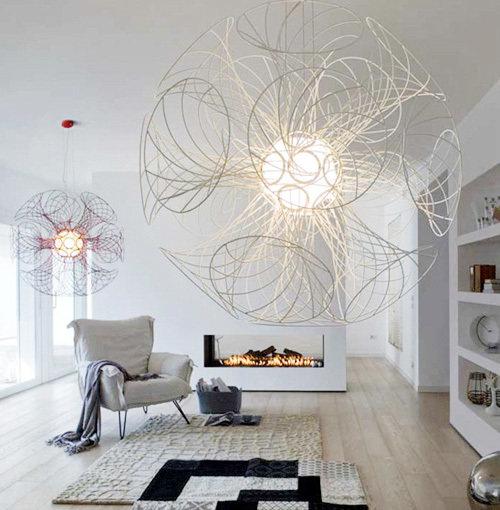 Фотография: Гостиная в стиле Современный, Эклектика, Декор интерьера, Мебель и свет – фото на InMyRoom.ru