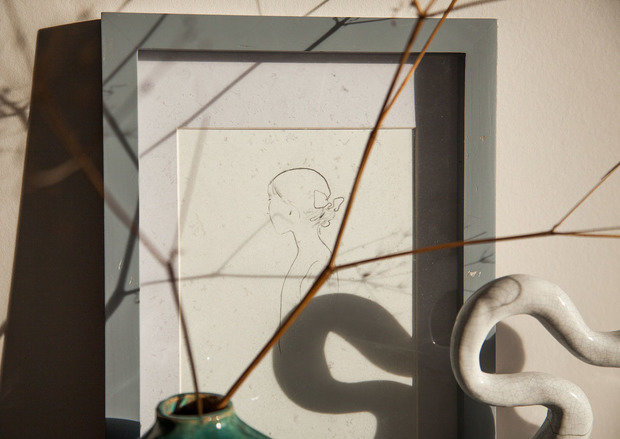 Фотография: Спальня в стиле Современный, Малогабаритная квартира, Квартира, Проект недели, Санкт-Петербург, Монолитный дом, 2 комнаты, до 40 метров, Светлана Мельникова, Иван Мельников – фото на INMYROOM
