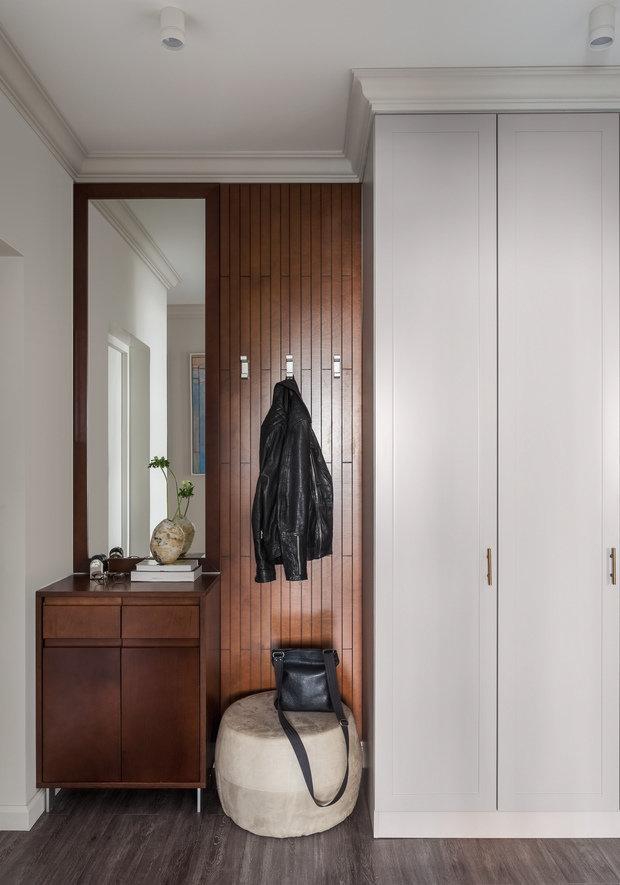 Фотография: Прихожая в стиле Современный, Квартира, Проект недели, Москва, 2 комнаты, 40-60 метров, 60-90 метров, Анна Чеверева – фото на INMYROOM