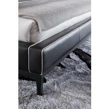Кровать из экокожи 160X200 см