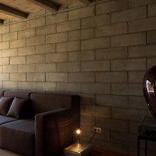 Фотография: Гостиная в стиле Лофт, Дом, Дома и квартиры, Минимализм, Большие окна – фото на InMyRoom.ru