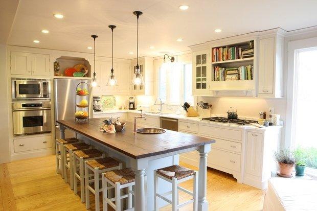 Фотография: Кухня и столовая в стиле Лофт, Современный, Интерьер комнат, Советы – фото на InMyRoom.ru