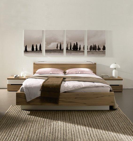 Фотография: Спальня в стиле Современный, Цвет в интерьере – фото на InMyRoom.ru