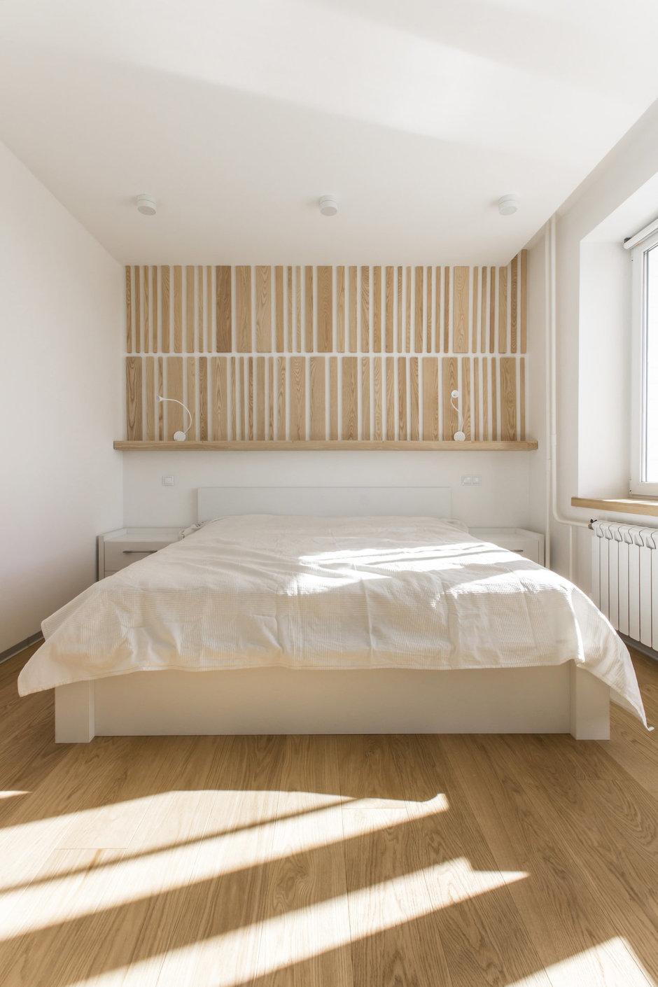 Фотография: Спальня в стиле Лофт, Квартира, BoConcept, Дома и квартиры, Белый, IKEA, Проект недели, Мансарда – фото на InMyRoom.ru