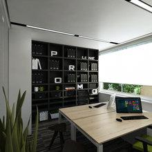 Фото из портфолио Офис – фотографии дизайна интерьеров на InMyRoom.ru