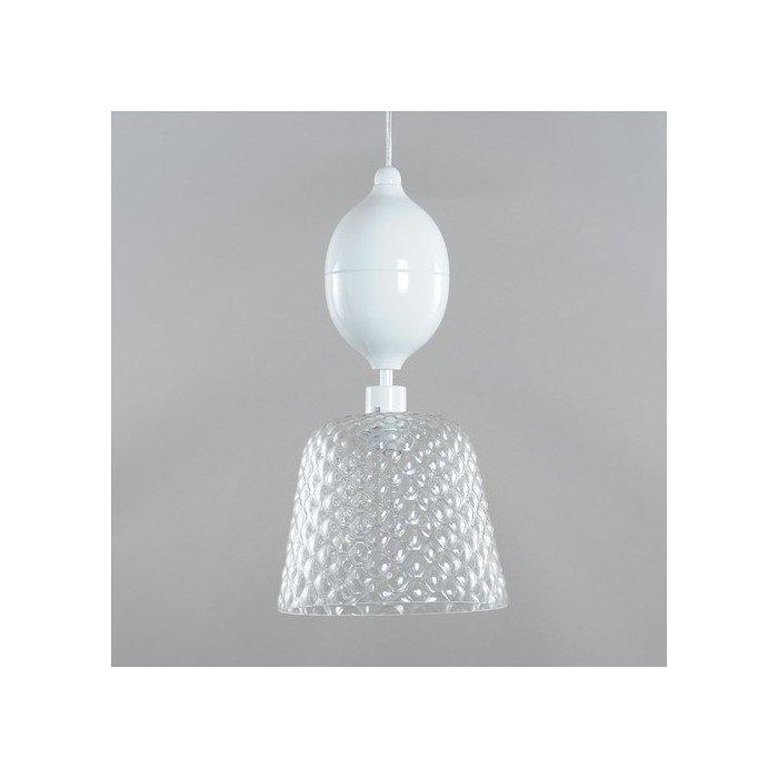 Подвесной светильник Elvan из металла и стекла