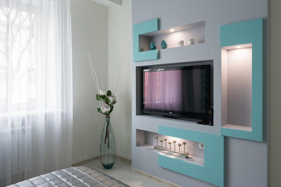 Фотография: в стиле , Квартира, Проект недели, Москва, Сталинка, 2 комнаты, 40-60 метров, Анна Елина – фото на InMyRoom.ru
