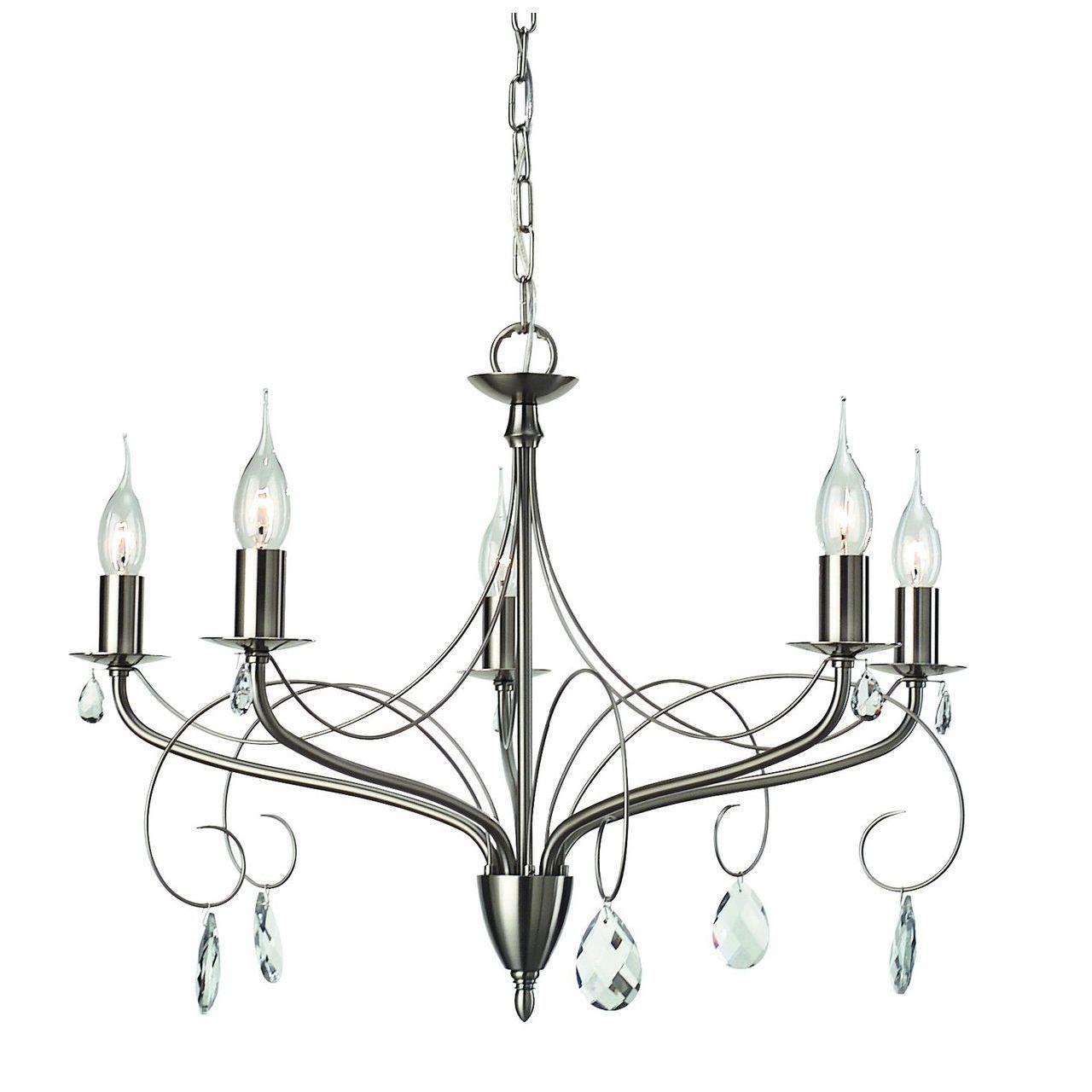 Купить Подвесная люстра Arte Lamp Purezza a6645lm-5ss, inmyroom, Италия