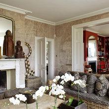 Фотография: Гостиная в стиле Восточный, Дом, Дома и квартиры – фото на InMyRoom.ru