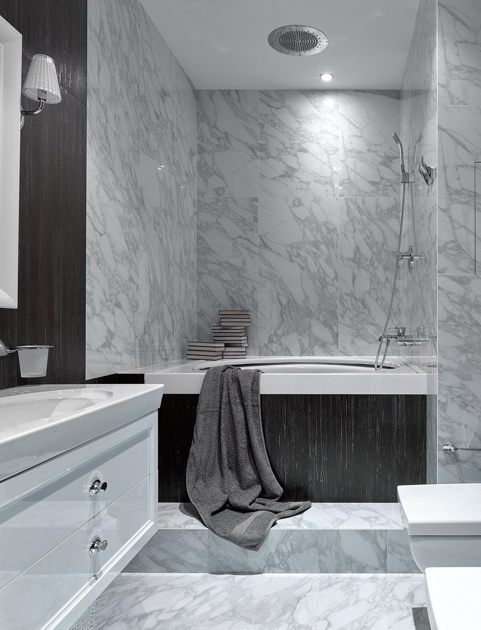 Фотография: Ванная в стиле Современный, Лофт, Квартира, Проект недели, Москва, Ариана Ахмад, Монолитный дом, 4 и больше, Более 90 метров – фото на InMyRoom.ru