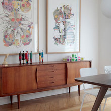 Фотография: Кухня и столовая в стиле Современный, Квартира, Дома и квартиры, Переделка – фото на InMyRoom.ru