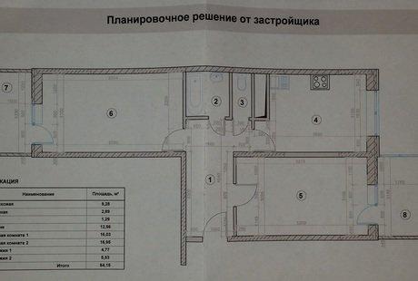 Очень нужна помощь в перепланировке 2-х комнатной квартиры распашонке