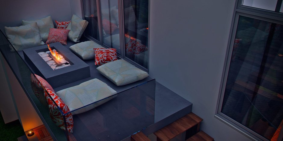 Фотография: Балкон в стиле Современный, Восточный, Дом, Минимализм, Проект недели, Эко – фото на InMyRoom.ru