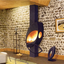 Фотография: Мебель и свет в стиле Скандинавский, Декор интерьера, Камин – фото на InMyRoom.ru